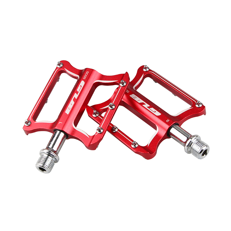 Image 4 - GUB CNC Aluminum Alloy Mountain Bike MTB Pedals Road Cycling DU Sealed Bearing Bicycle Pedals UltraLight Bike Pedal Parts-in Bicycle Pedal from Sports & Entertainment