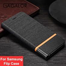 De luxe Flip Étui En Cuir Pour Samsung Galaxy S8 S8 Plus Cas Livre Style Stand Téléphone Couverture pour Samsung S6 S7 bord S8 Cas Coque