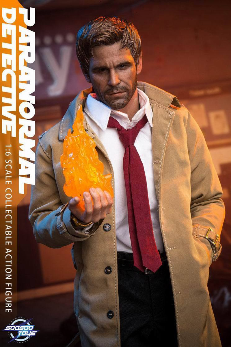 For collection 1/6 Scale SST007 Constantine Hell Ghost Detective action figure Toys whole set Action Figure 1