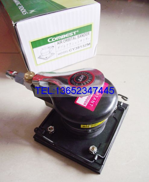 Taiwan Kang Combest speed CY-3813ZM 813z pneumatic square sandpaper machine 110*100mm 814 jo kang
