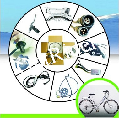 2017 hot sale! ORK-MINIV  36V 250W  V Brake Hub Motor Electric Bicycle Conversion Kit  CE /EN Approved