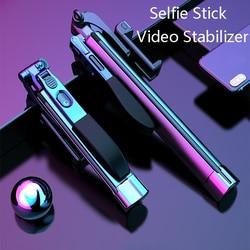 3 in 1 Wireless Selfie Stick Tripod bluetooth Extendable Monopod with Selfie Light For iPhone X 8 7 6s Xiaomi/Huawei Smart phone
