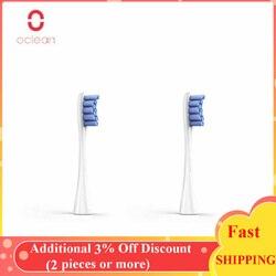 Original xiaomi oclean um/se/ar/x 2pcs substituição cabeças de escova de dentes para elétrica sonic escova de dentes para escova de dentes automática