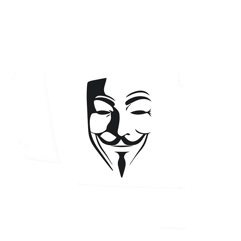 Buy guy fawkes decals and get free shipping on aliexpress com