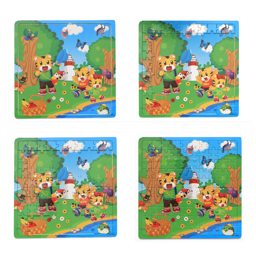 Educational Board Games For Kids Wooden Puzzle Games Tangrams Christmas Tree  Decorations Jouet Enfant Kids Toys