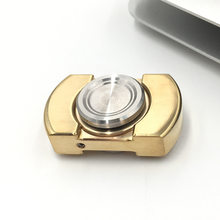 EDC Hand Spinner VORSO England produced a jiatewei Fingertip gyroscope fidget spinner Copper,,brass,fidget spinner B0013(China)