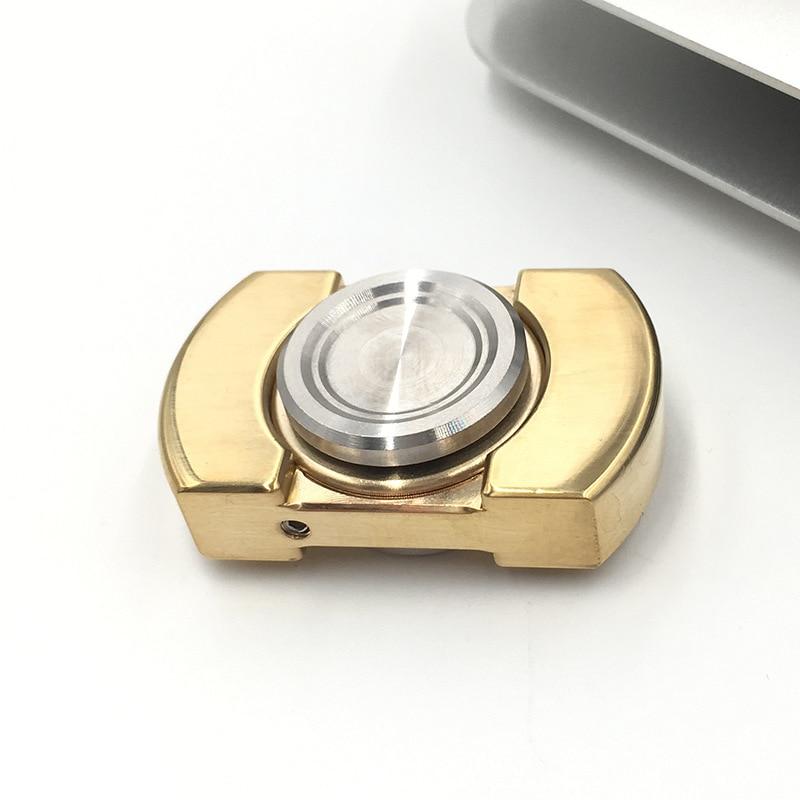 EDC SPINNER mano vorso Inglaterra produjo un jiatewei fingertip giroscopio fidget SPINNER cobre, latón fidget SPINNER B0013