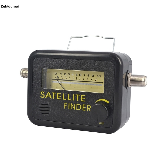 Kebidumei New Digital Satellite Finder Meter FTA LNB DIRECTV Signal Pointer SATV Satellite TV Receiver Tool for SatLink Sat Dish