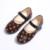 Hot girl shoes otoño 2017 nueva impresión de la manera de la escuela de cuero shoes for kids simple casual kids shoes