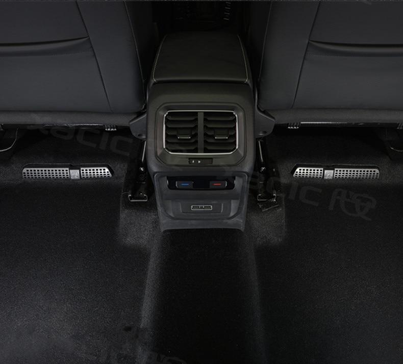 for 2016 2017 2018 vw tiguan mk2 allspace touran mk2 car seat air conditioner air outlet