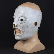 Masque à nœud coulissant Corey Taylor Leader chanteur, Cosplay TV, masques de Dj en Latex, accessoires pour fête dhalloween