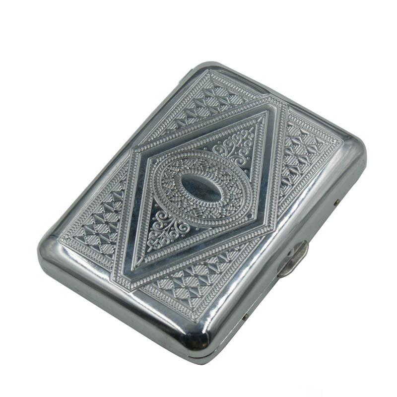 Metal Alloy Cigarette Case Can Put 16 Cigarettes Aluminium Alloy Cigarette Box