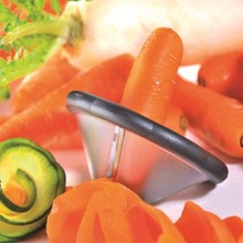 New Funnel Model Spiral Slicer Vegetable Shred Device Cooking Salad Carrot Radish Cutter Kitchen Tools Accessories Gadget