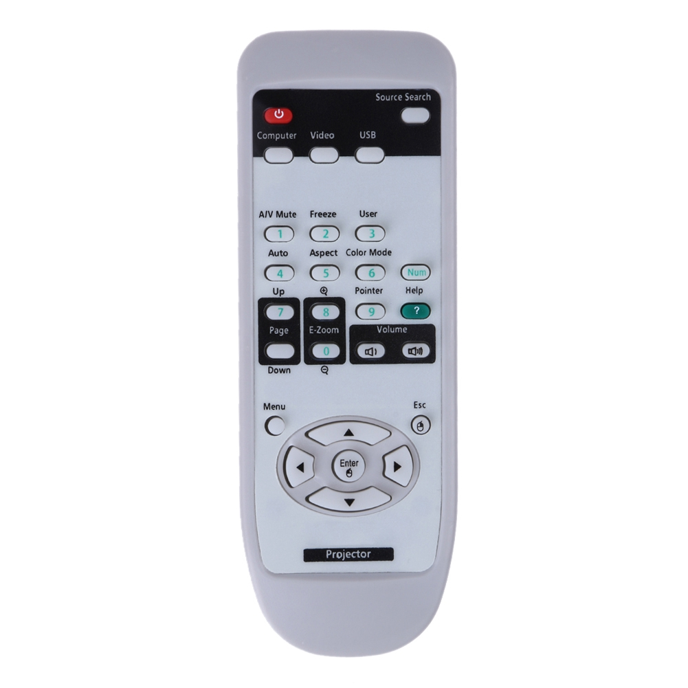 US $4 05 |Replacement Remote Control Suitable For Epson Projector Emp S3  Emp S3 X3 S4 Emp 83 Emp 83H Eb 440W Eb 450W Eb 460/I H283A Emp -in Remote