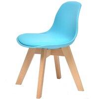 Бытовой Детский деревянный стул Простой низкий табурет со спинкой Многофункциональный менять обувь скамьи стабильной стул дети изучают ст