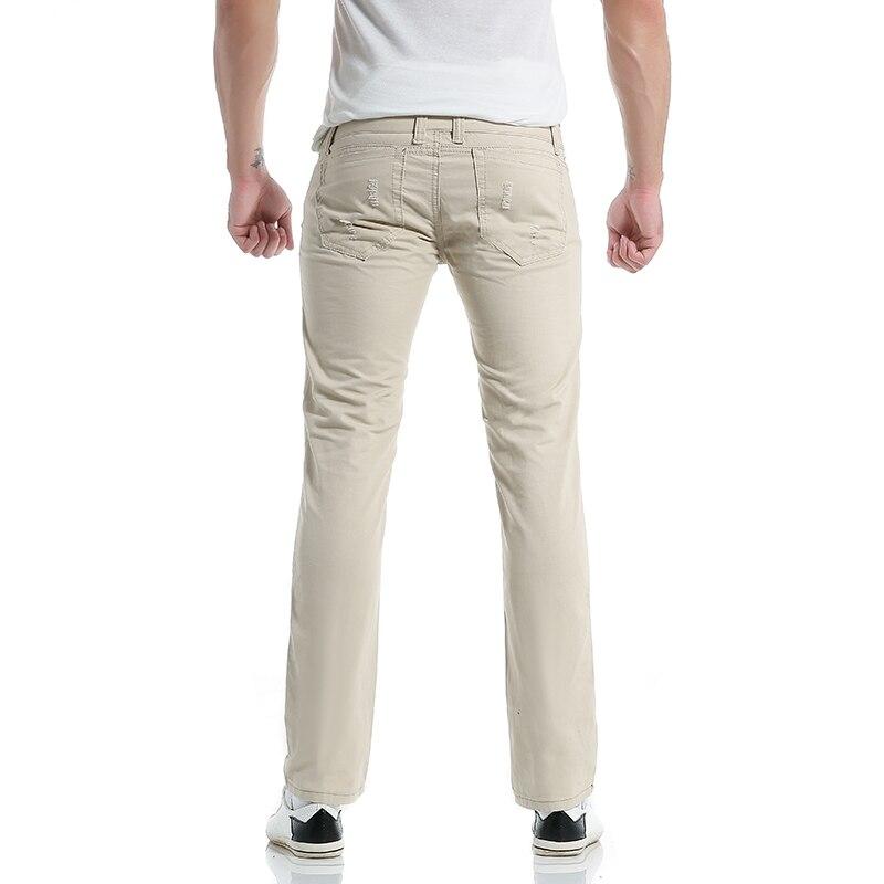 Uus stiil 2017 meeste moe vabaaja pikk püksid meeste isiksus paljud - Meeste riided - Foto 2