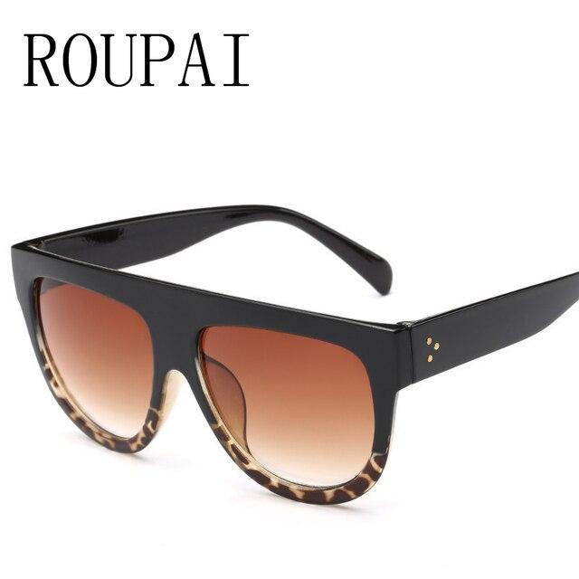 2e8716264c0299 Hoogwaardige Vierkante Bril Mannen En Vrouwen Grote Frame Zonnebril Merk  Ontwerp Retro Mode Kleur UV400 Zonnebril
