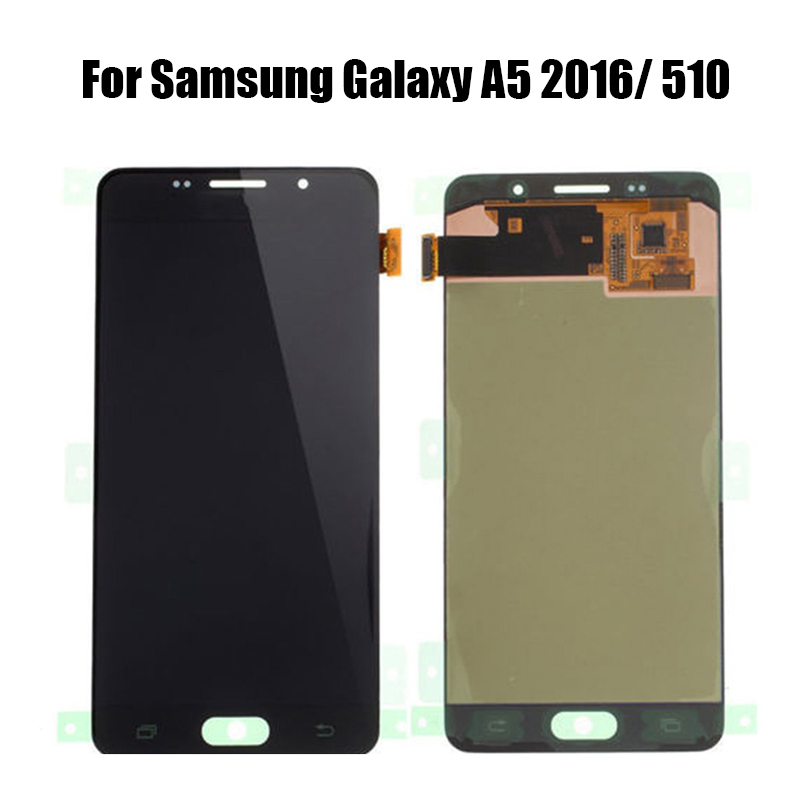LCD For <font><b>SAMSUNG</b></font> Galaxy A5 2016 A510 A510FD <font><b>A510F</b></font> A510M LCD <font><b>Display</b></font> Touch Screen Digitizer Assembly Adjustable brightness image