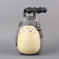 Anime Cartoon Totoro con L'ombrello Action PVC Figure Da Collezione Toy Doll 8