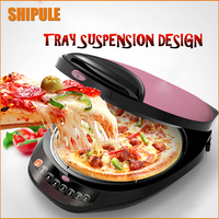 SHIPULE Electric Crepe Maker Pizza Machine Pancake Machine Cooking Tools Electric Baking Pan