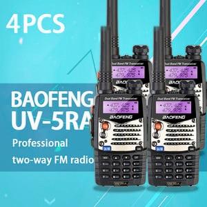 Image 2 - (4 PCS)Baofeng UV5RA Ham Two Way Radio Walkie Talkie Dual Band Transceiver (Black)