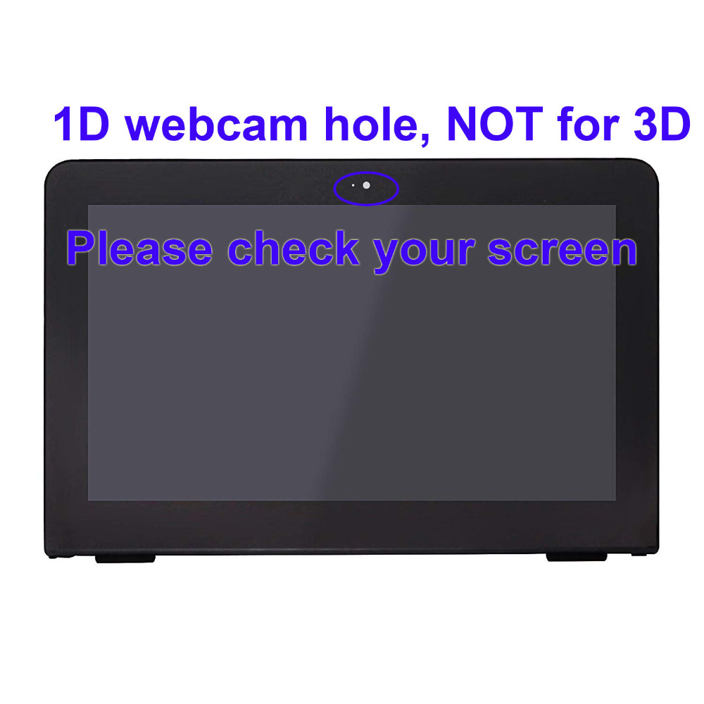 For HP Pavilion x360 11 U053TU 11 u015la LCD Display Touch Screen Glass Assembly Replacement 11.6 inch HD