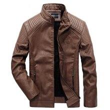 2018 Man Zipper Leather Jackets PU Classic Jaqueta Masculinas Inverno Couro Jacket Men Motorcycle