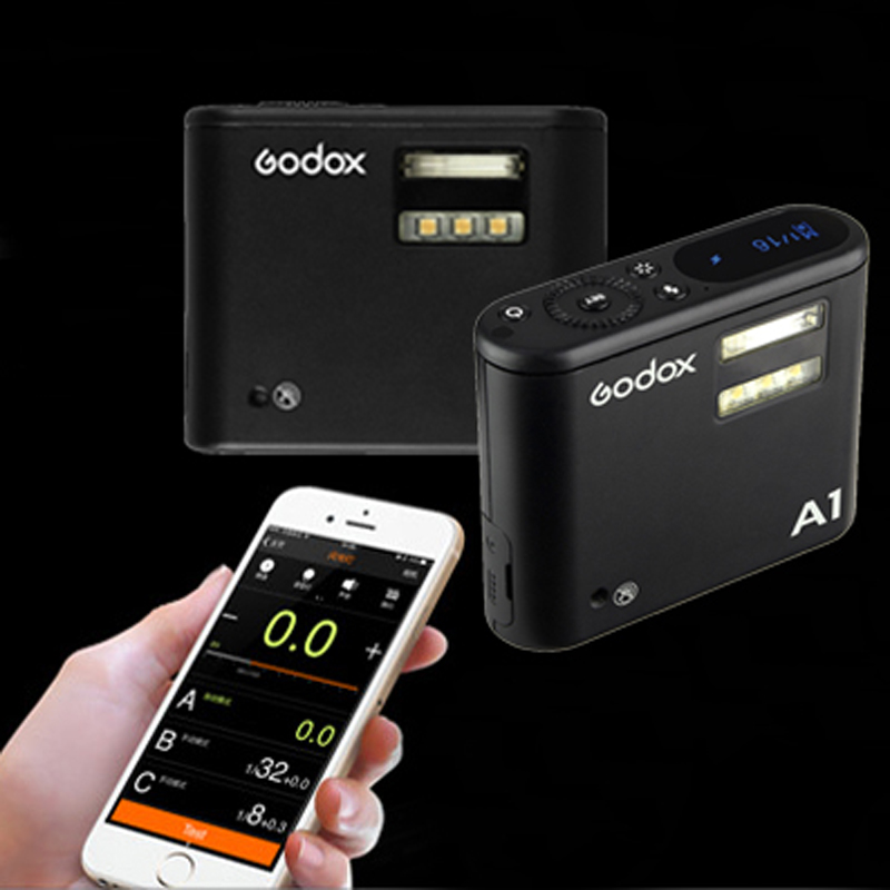 Godox A1 Lithium Battery Smartphone Flash Light with 2.4G Wireless System Trigger for iPhone 7 6S Plus smartphone