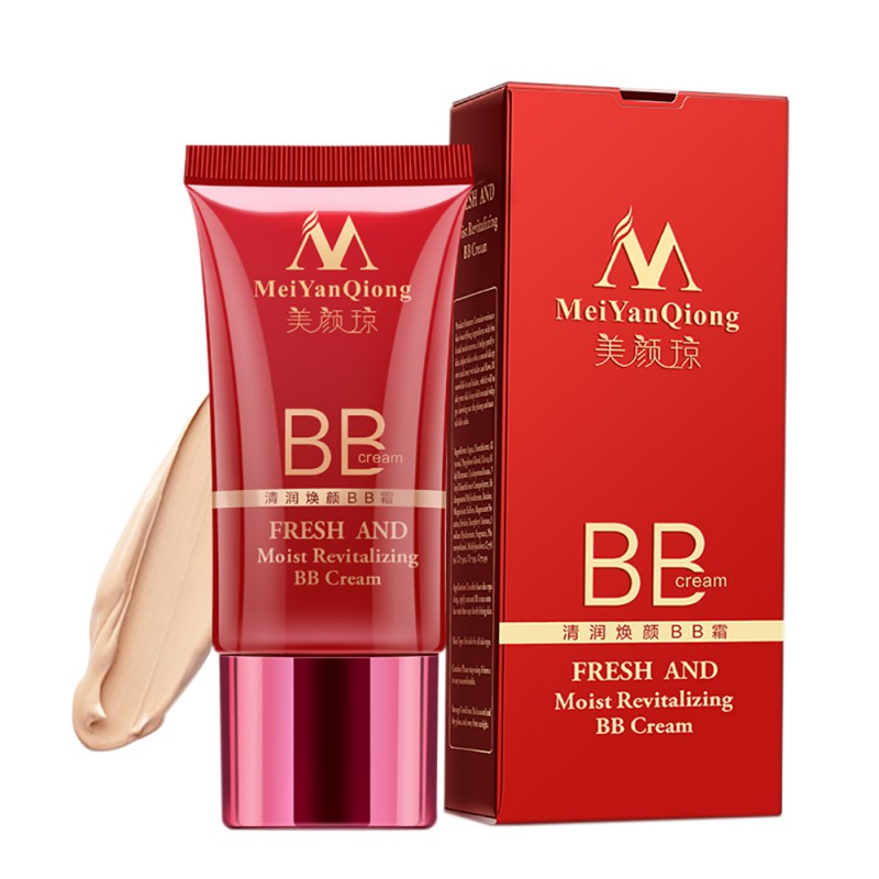 Hot Sell Whitening Firming Foundation Concealer Fresh Moisturizing BB Cream Makeup Facial Treatment  Makeup Base BB Cream
