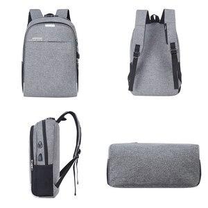 Image 4 - Shellnail wodoodporna torba na laptop podróży plecak wielofunkcyjny torba antykradzieżowa dla mężczyzn PC plecak kabel USB do ładowania dla Macbook IPAD