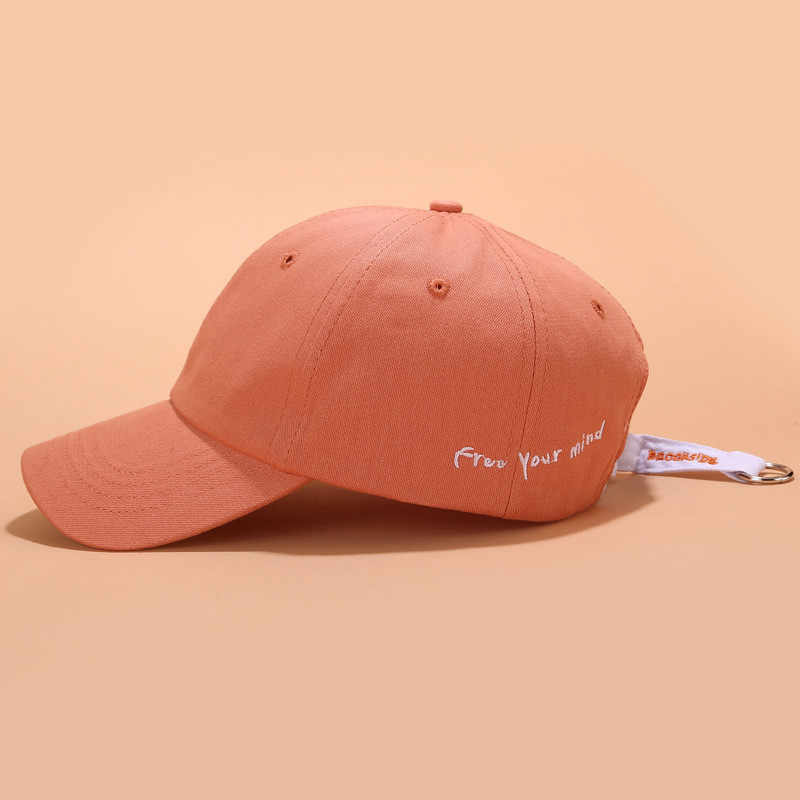 2019 Unisex Fashion Lron Cincin Bordir Bisbol Dapat Disesuaikan Topi Street Topi Kasual Outdoor Hadiah