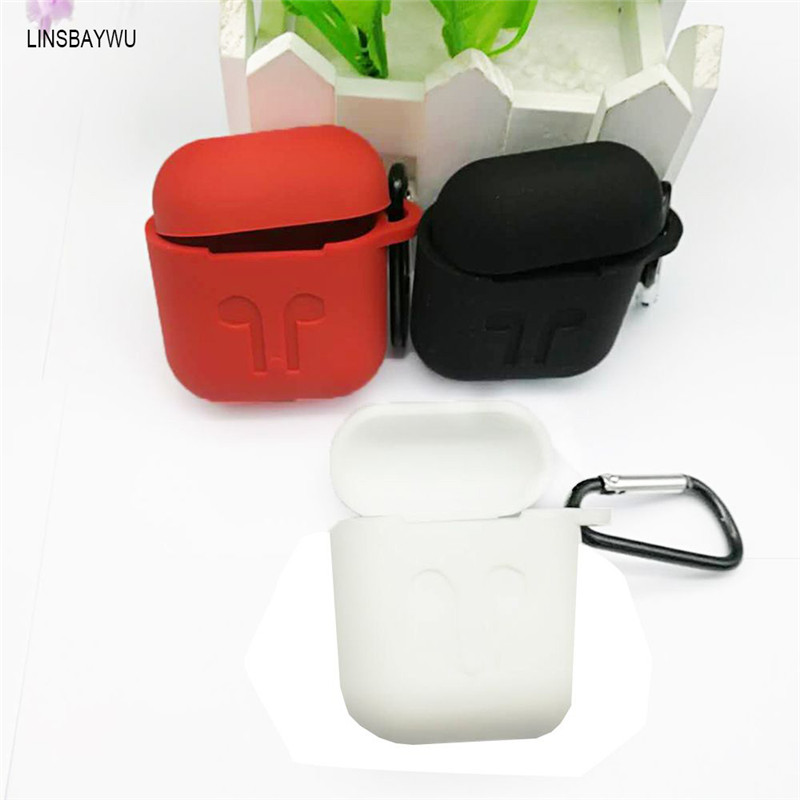 Premium Quality Charging Silicone Storage Box Cover Case+Earphone Anti Lost Strap Rope F ...