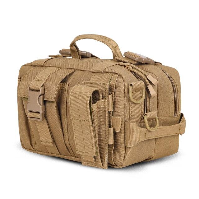 nueva apariencia diseñador de moda atarse en Bolso bandolera militar multifunción para hombre, bolso de viaje, bolso de  camuflaje para mujer