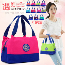 Women's Small Totes Ladies Waterproof Nylon Bag Mini Cloth Shoulder Bag Female Casual Handbags Lunch Bag Good Quality Low Price