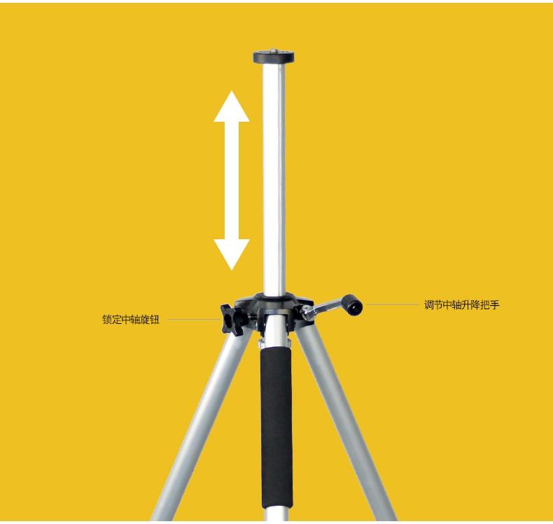 SOMITA ST proiettore del proiettore del treppiedi staffa triangolare staffa staffa telescopica universal mobile staffa vassoio cd50 - 4