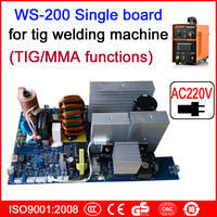 AC220V Single Board WS 200 TIG MMA Circuit Board For Inverter Welding Machine