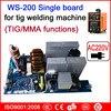 AC220V Single Board WS 200 TIG MMA Circuit Board For Inverter Welding Machine