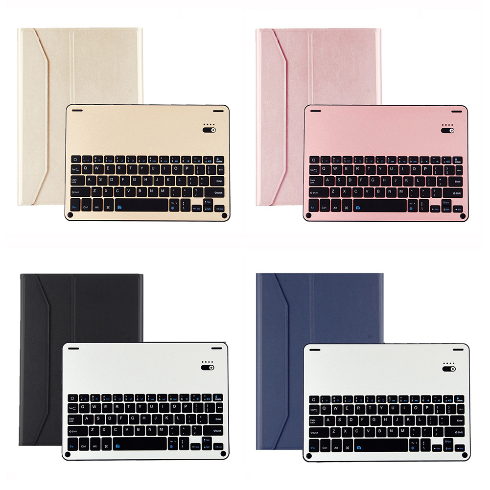 10.5 Bluetooth Keyboard Case Wireless Keyboard for Tablet Waterproof Dustproof Foldable Stand Cover Holder for iPad iPad Pro