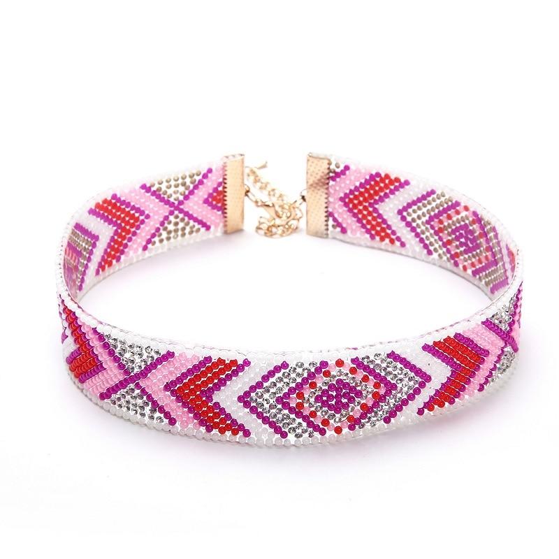 Naomy & ZP Beads Collar Choker մանյակ Գոտիկներ - Նորաձև զարդեր - Լուսանկար 3