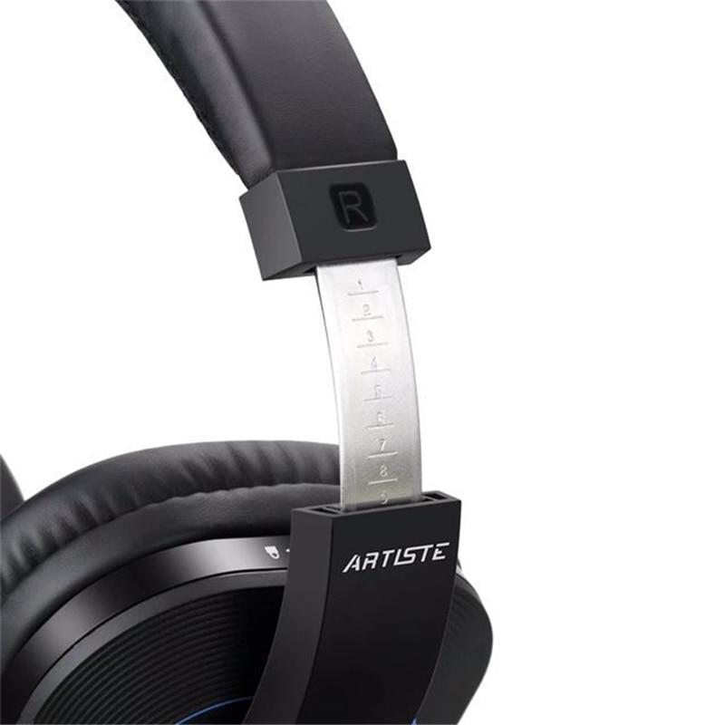 52ab23b67ac Artiste D1 Wireless TV Headphone with 2.4GHz Digital Transmitter Charging  Dock Multiple Headset Connected Cordless For TV Radio-in Earphones &  Headphones ...