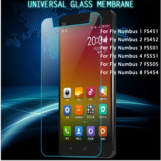 Universal Untuk Fly Nimbus 1 2 3 4 7 8 Fs451 Fs452 Fs551 Fs505 Fs454 Tempered Kaca Screen Protector Untuk Fly Power Plus 5000 Film <
