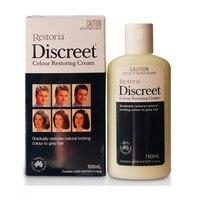 Australia Restoria Discreet Restores Hair Colour Cream 150ml Grey Hair Treatment Anti Dandruff Hair Conditioner Care Easy use