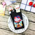 Hot Cute 3D lucky Cat Soft Silicone Capa Phone Cases Cover For VIVO X7/X7plus/Y51/Y55/X9/X9plus/Y67/V5/XPLAY6