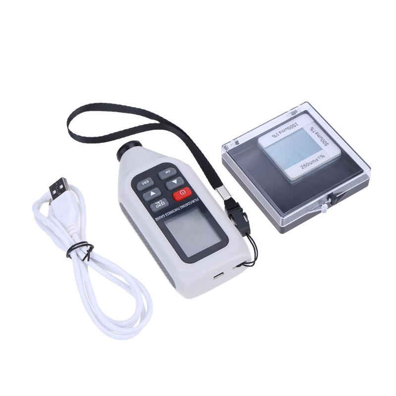 Digital Thickness Gauge Portable Paint feeler gauge Tester diagnostic-tool High-precision Handheld Film/Coating Thickness Gauge