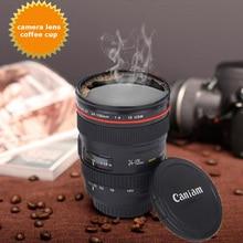 Caniam SLR Камера объектив 24-105mm 1:1 масштаб Пластик Кофе Чай Кружка 400 мл оригинальные чашки и кружки с крышкой FC0047
