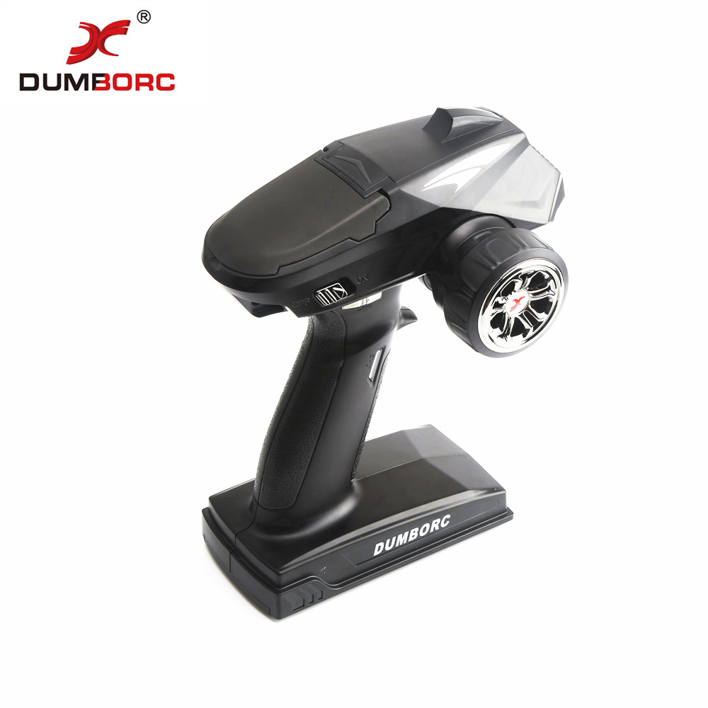 Image 3 - DumboRC X4 2.4G 4CH Transmitter with X6F Receiver for JJRC Q65 MN 90 Rc Vehicle Car Boat Tank Model PartsParts & Accessories   -