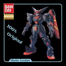 Bandai modelo móvel lutador g gundam mg 1/100 master gundam efeitos figura de ação modelo modificação