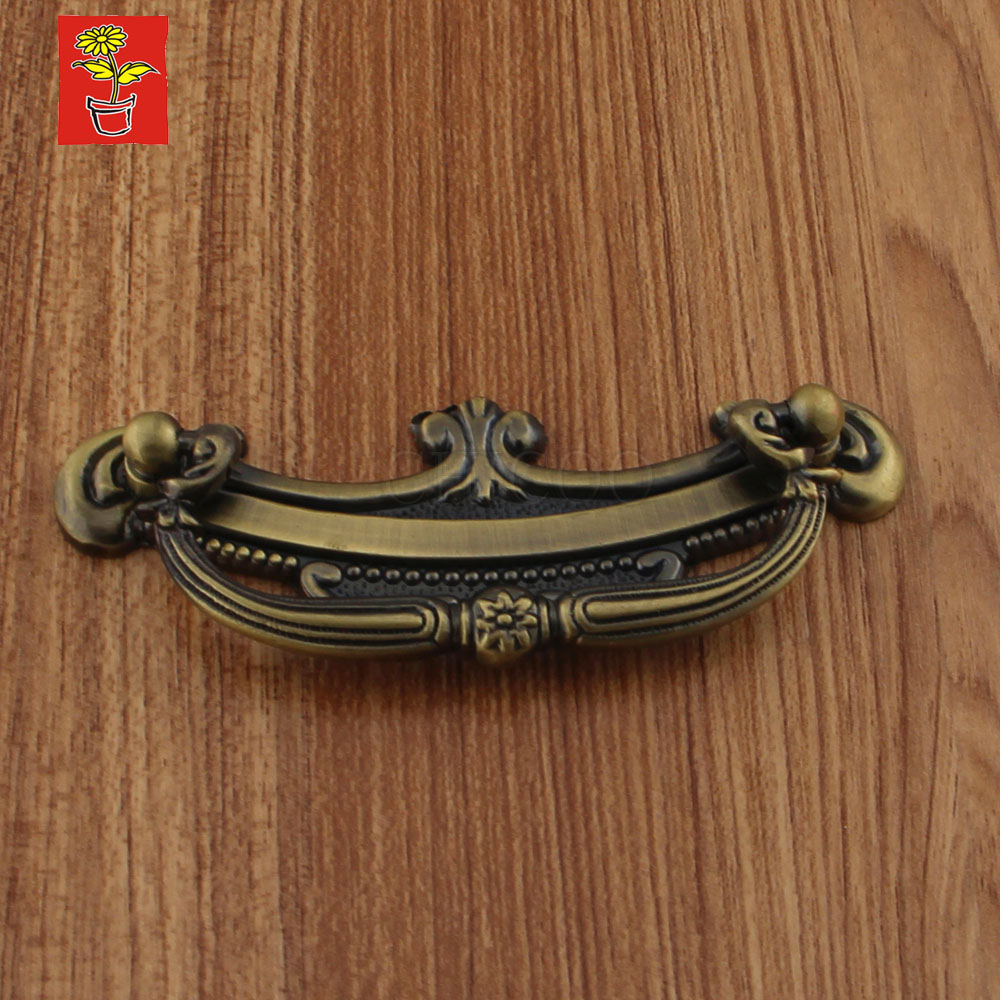 Aliexpress.com : Buy Vintage Antique Brass kitchen cabinet handles and  knobs furniture fitting copper cupboard handles from Reliable fitting upvc  suppliers ... - Aliexpress.com : Buy Vintage Antique Brass Kitchen Cabinet Handles