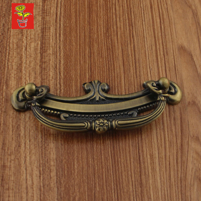 Genial Vintage Antique Brass Kitchen Cabinet Handles And Knobs Furniture Fitting  Copper Cupboard Handles