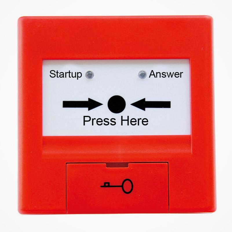 TCXH5215 Fire Hydrant Button Intelligent Manual Call Point  For  TC Fire Alarm System